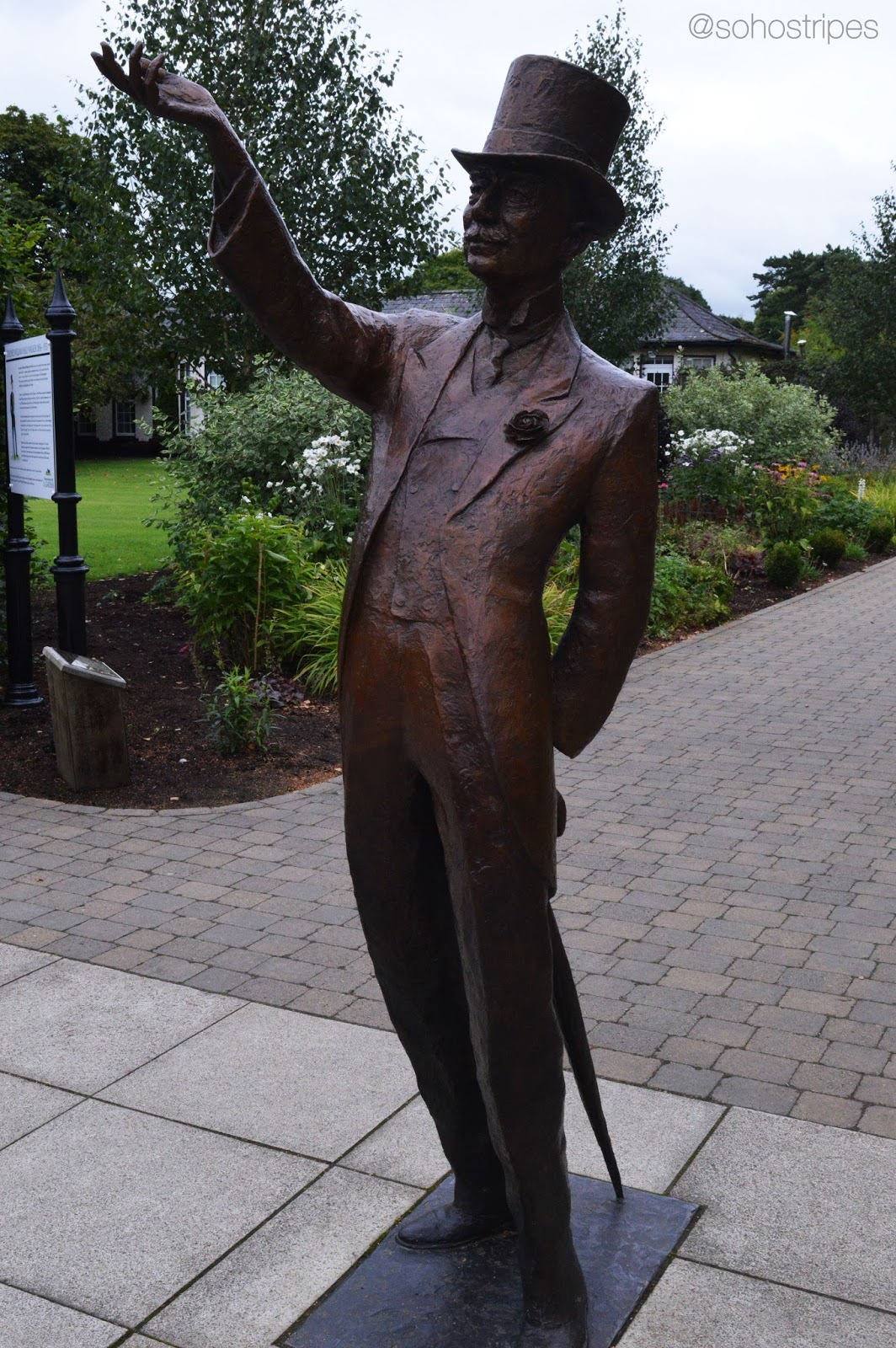 Irish National Stud - Colonel William Hall Walker statue