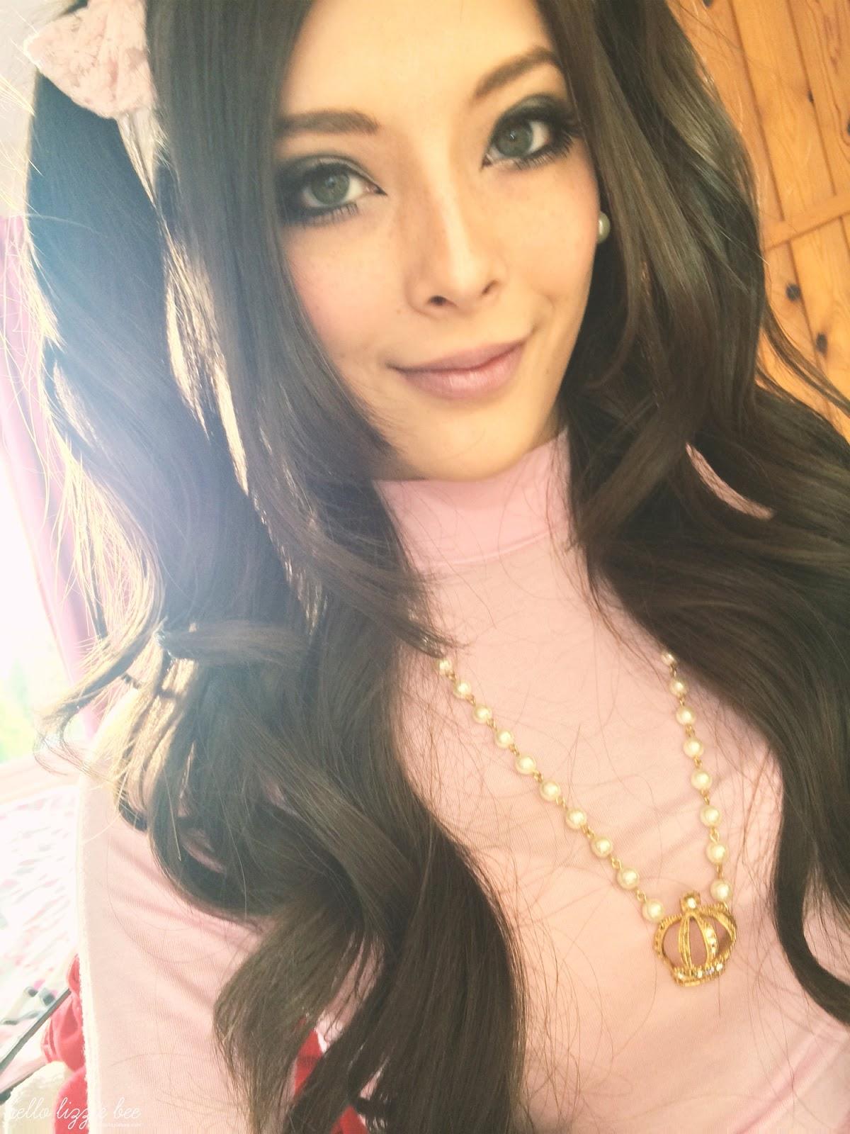 sweet agejo, gaijin gyaru, lizzie bee, pink birthday look