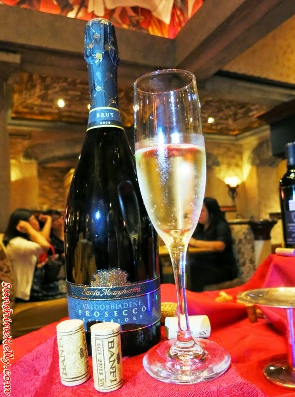 Santa Margherita, Brut Valdobiadene, Italian Dining Experience, Santa Margherita Wine Dinner, Villa Danieli, sheraton imperial kl, food review, food wine pairing,