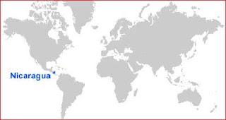 Gambar Peta letak Nikaragua