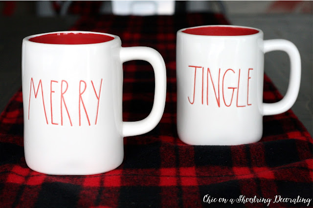 Rae Dunn Christmas Mugs