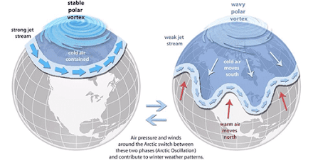 What Exactly is the Polar Vortex? (Credit: The Weather Channel)