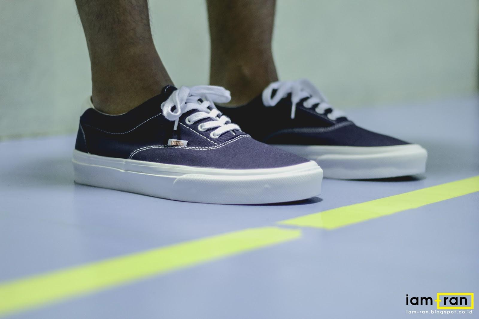 f0ffb821fa2e74 Anggie Raditya on feet. Sneakers   Vans Era X Beams (40th Anniversary).  Photo by  iam.ran06
