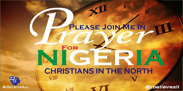 Christians in Nigeria are being killed everyday in the Northern part of the country and no one is talking the government is keeping quiet over all the massacre in the land. All the activist have been silent. If you dare talk or protect, the next day you will wake up and see yourself in police cell.  Can we continue to keep quiet?  No!  This is a big challenge to the christian family and we must wake up to the challenge and keep our knee of the ground in prayer unto God.  Therefore, i urge Christians all over the world to remember fellow Christians in Nigeria in their prayer.  #PrayForChristiansInNigeria