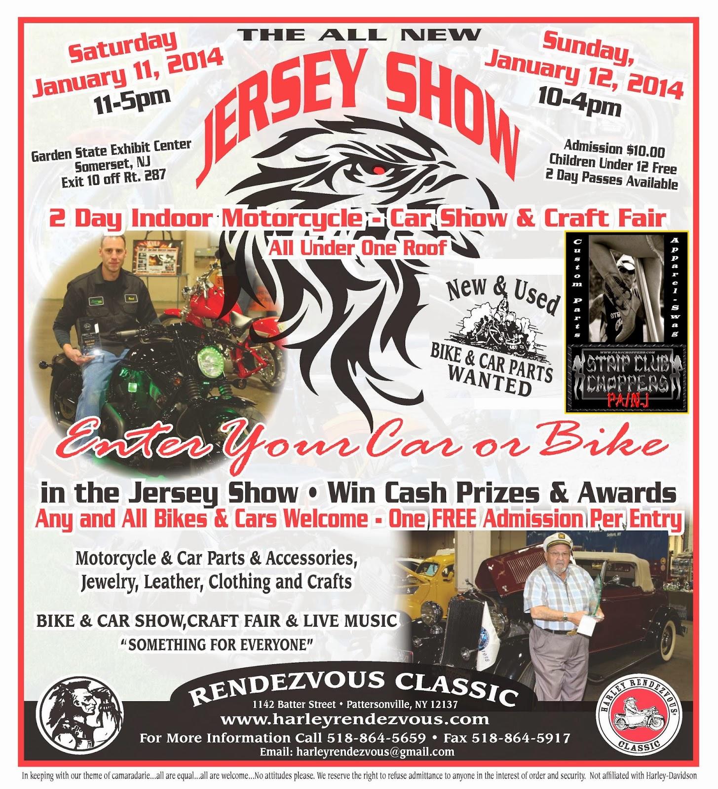 Strip club choppers pa nj harley - Garden state exhibit center somerset nj ...