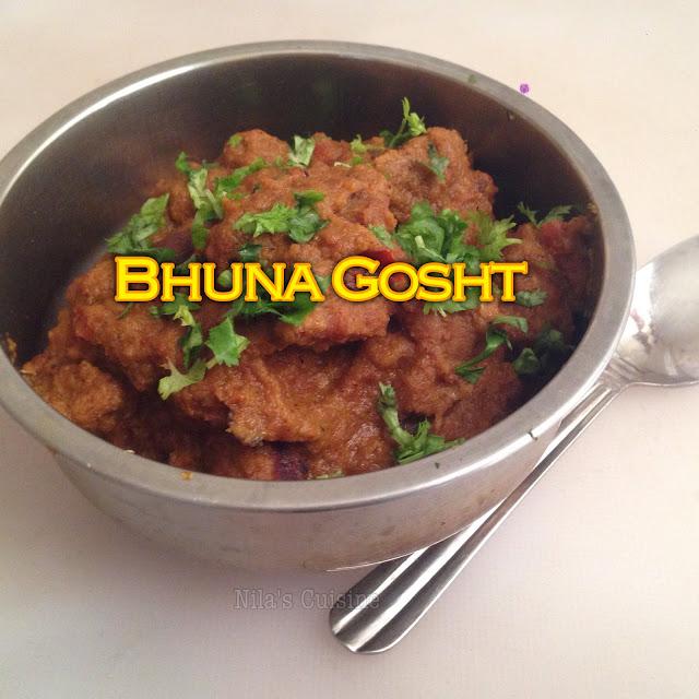 Bhuna Gosht / Mutton Bhuna Gosht