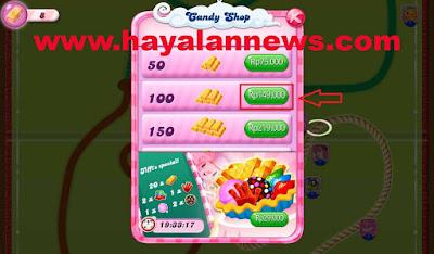 100x Gold bars candy crush saga untuk kamu sekarang gratis