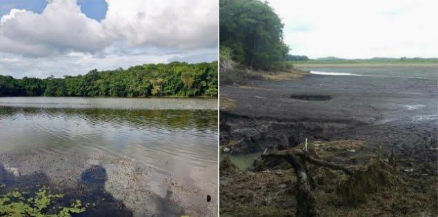 Misteriosa faglia geologica fa sparire una laguna in Messico.