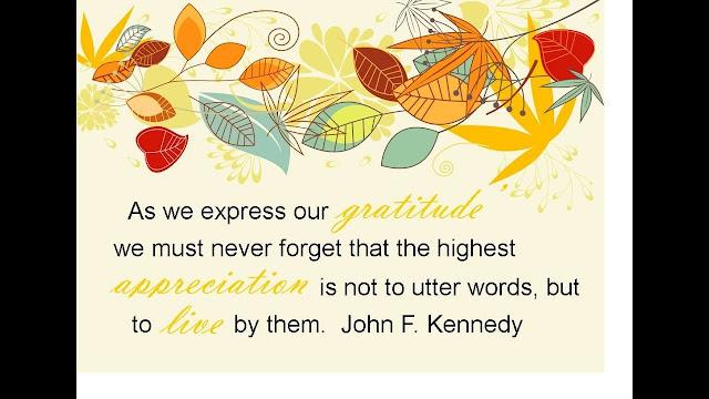 Happy Thanksgiving Day Speech