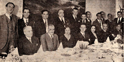 Homenaje a Antonio F. Argüelles en 1933