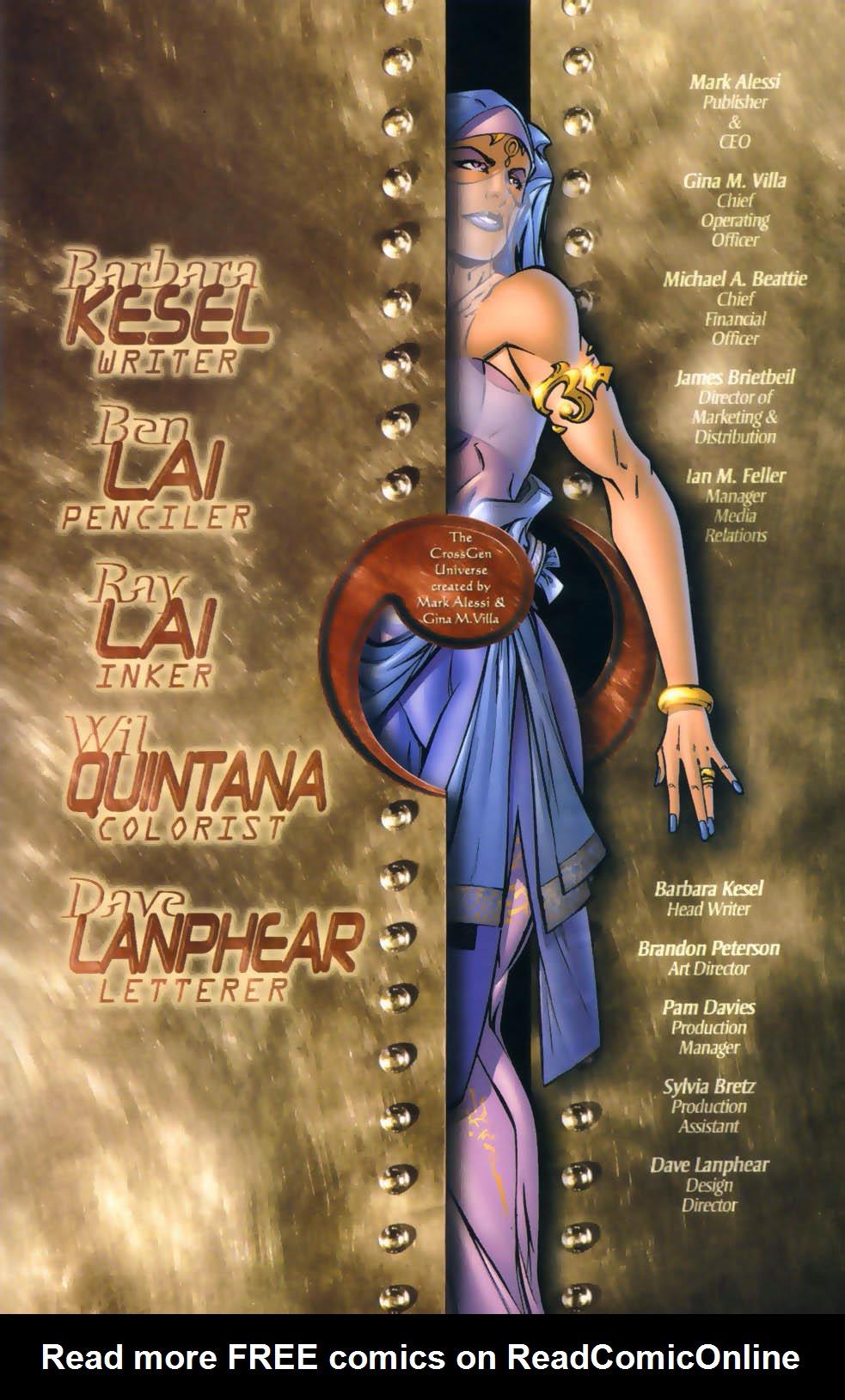 Read online Sigil (2000) comic -  Issue #4 - 26