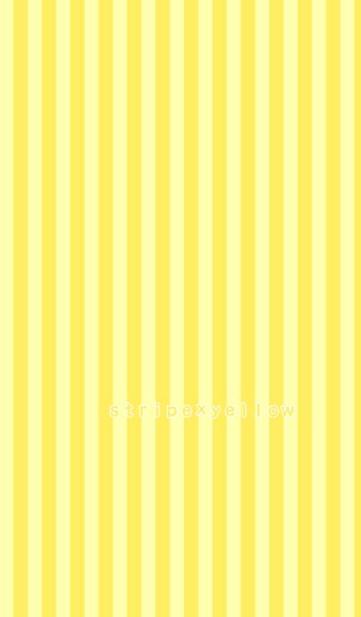 stripe*yellow*