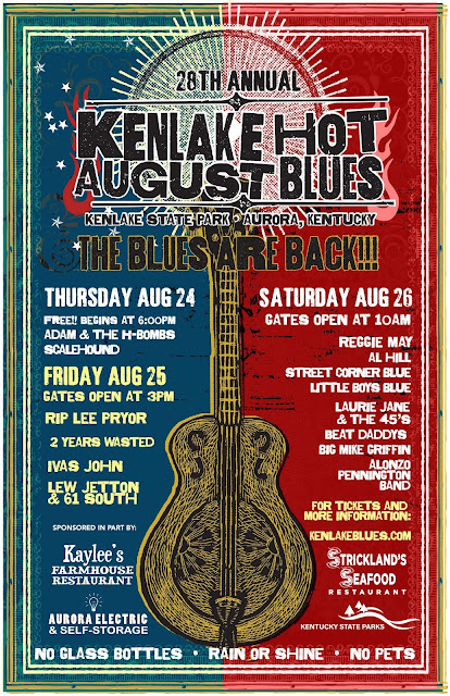 Aug 24 & 26 - Kenlake Hot August Blues