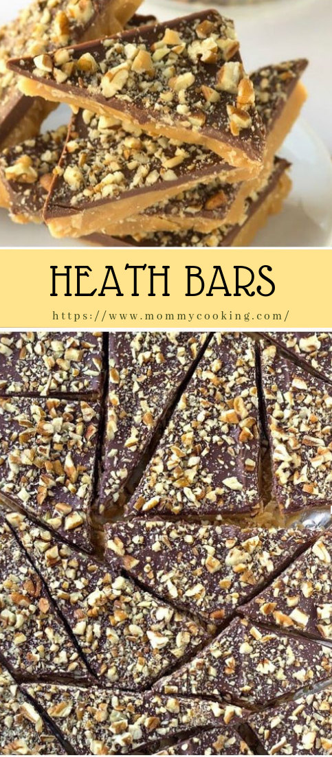 HEATH BARS #desserts #easyrecipe
