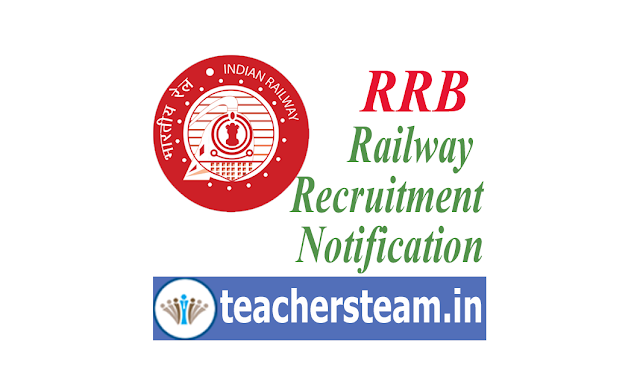 RRB Railway Recruitment 2019 Notification