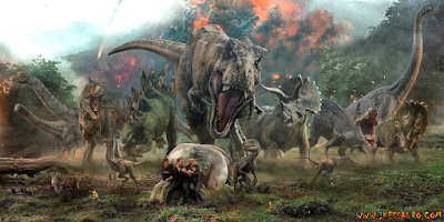 Dinossauros do Jurassic World Reino Ameaçado