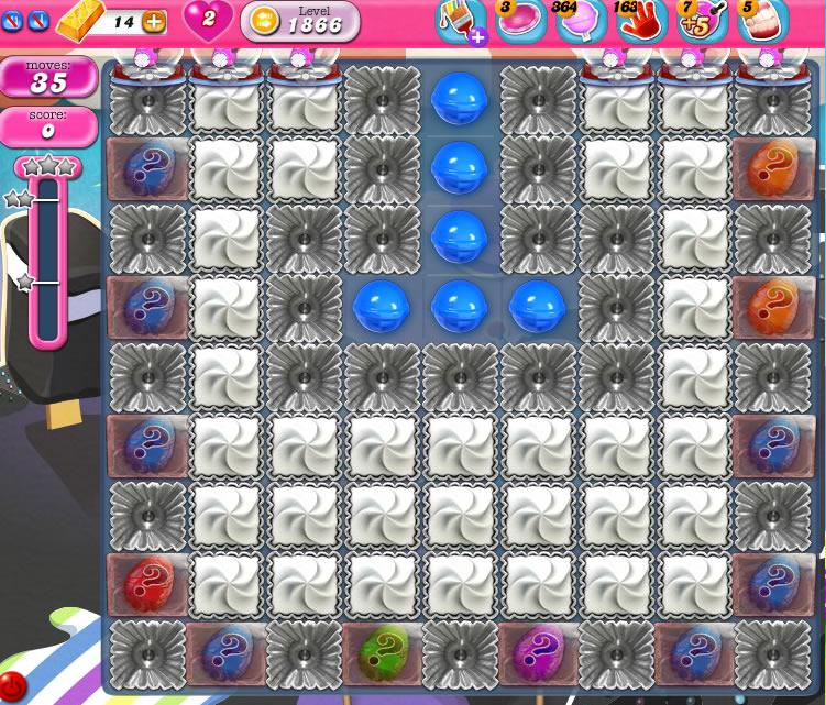 Candy Crush Saga 1866
