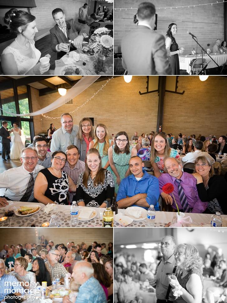 Charming Boulevard Park Church Wedding and Normandy Park Community Club Reception in Seattle || Rebeccah + Jon