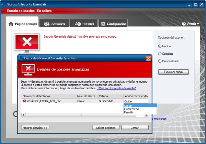 microsoft security essentials antivirus gratis descargar
