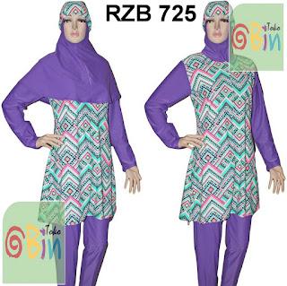 baju renang syari RZB 725
