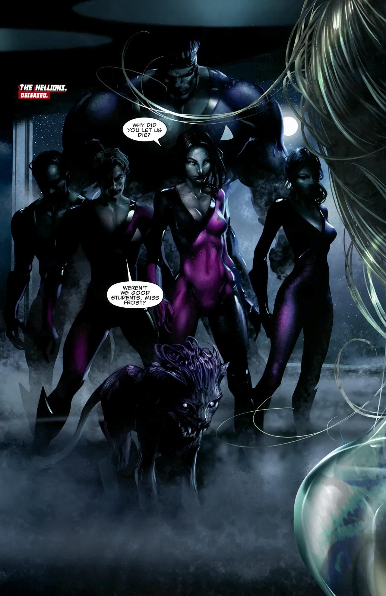 Read online X Necrosha comic -  Issue # Full - 17