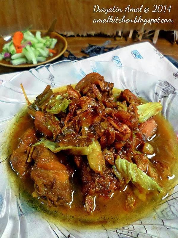 Masak Tongseng Ayam : masak, tongseng, Amal's, Kitchen, Simple, Recipes:, Tongseng