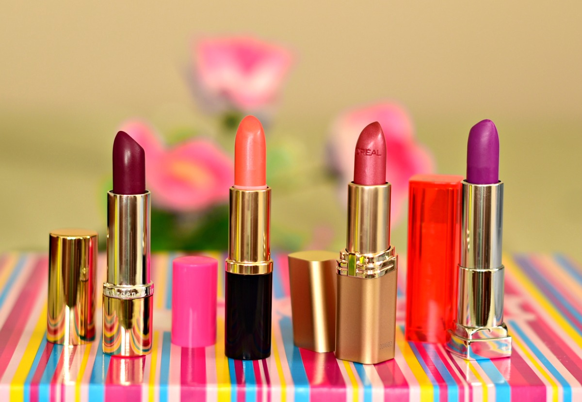 Ninasstyleblog_Elizabeth Arden, Estee Lauder, Revlon, L'oreal Lipsticks
