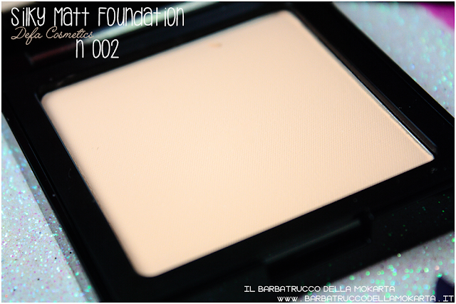 002 Silky Matt Foundations Defa Cosmetics Fondotinta vegan review