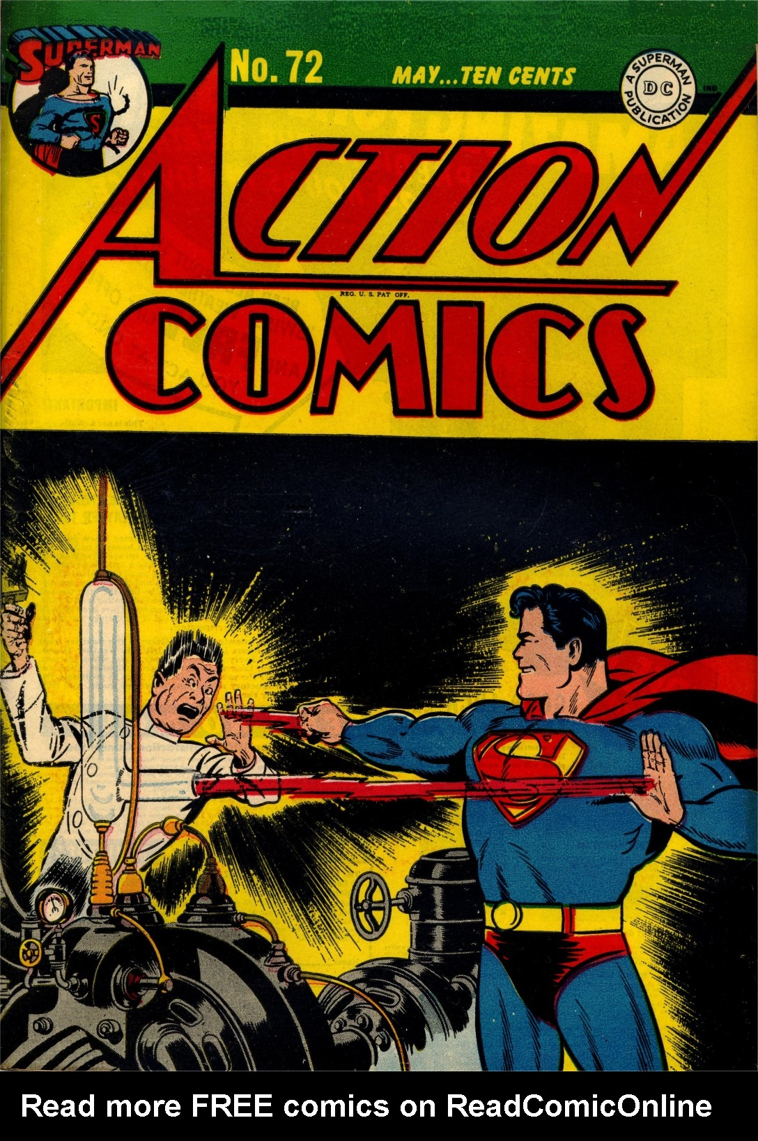 Action Comics (1938) issue 72 - Page 1