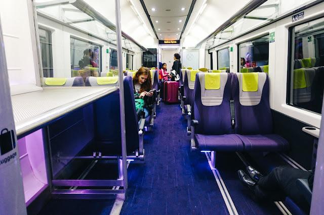 ヒースロー・エクスプレス(Heathrow Express) の車内
