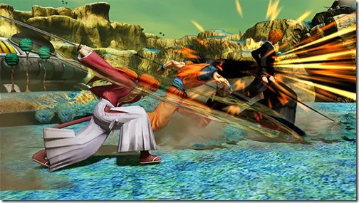 J-Stars Victory Vs, Shounen, Jump, Weekly Shounen Jump, Anime collaboration, games, PS3, Playable Characters, Screenshot, Kenshin, Ichigo, Goku