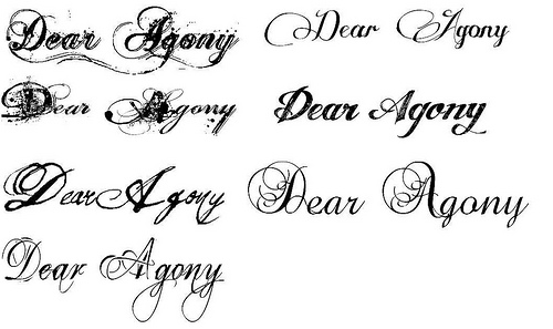 Ideas Of Fonts Tattoo Styles Pictures 30 482233330fb13a95f89dff4c060946e5 Cursive Tattoos Lettering Different Types