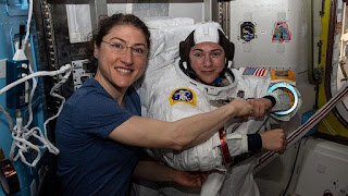 First all-Female pairing to Spacewalk