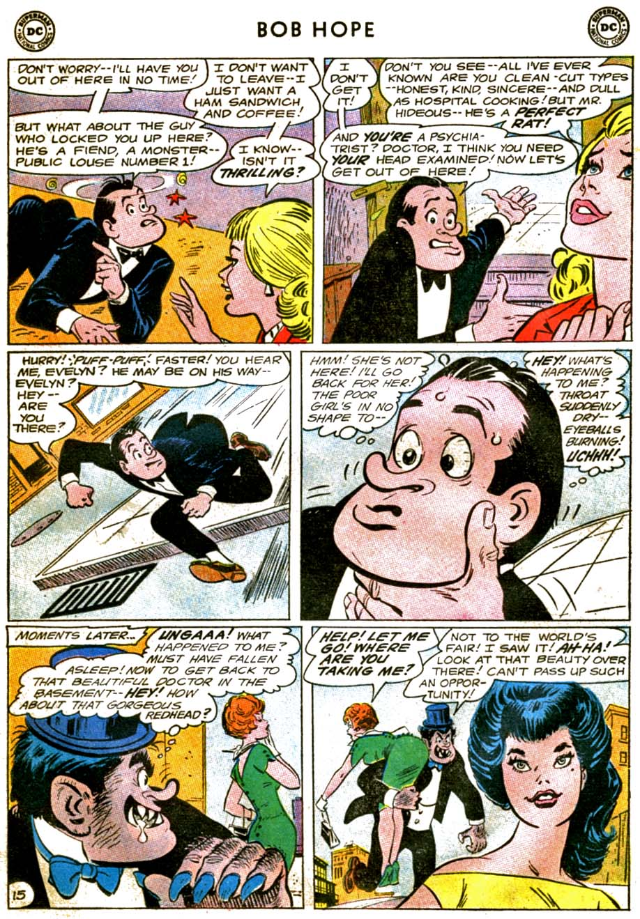 The Adventures of Bob Hope issue 92 - Page 19