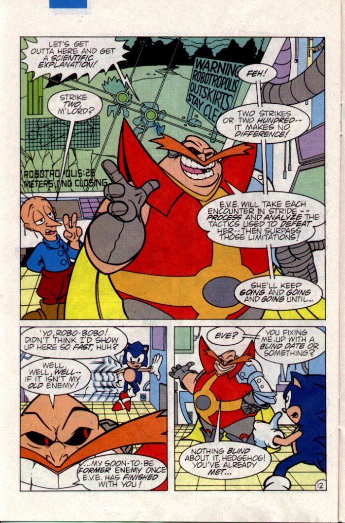 Read online Sonic The Hedgehog comic -  Issue #21 - 13