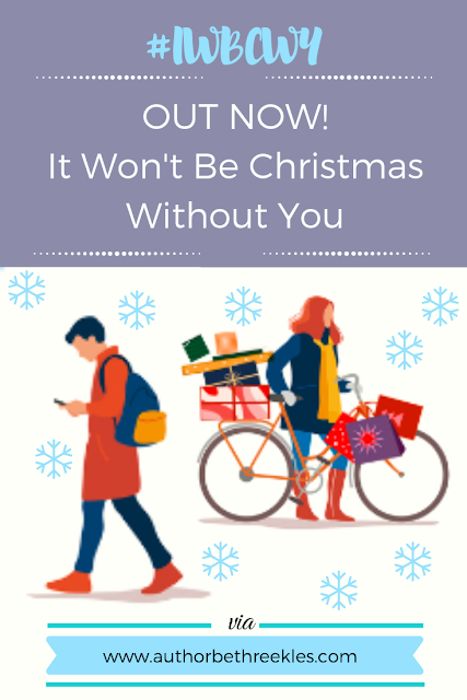 My debut adult book, It Won't Be Christmas Without You, is out now! Find out more about it, including where to buy it, in this post.