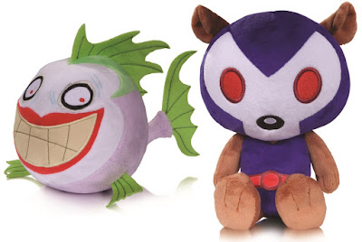 DC Comics Super Pets Series 3 Plush Figures by Art Baltazar - Joker Fish & Osito