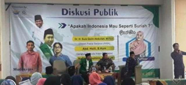 'Jangan Suriahkan Indonesia' Didengungkan di UINSA Surabaya