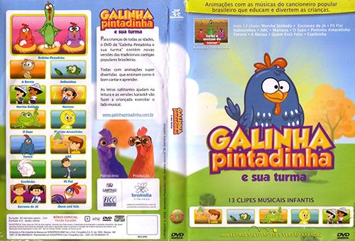 Coleção Galinha Pintadinha 1 a 4 Torrent - HDRip