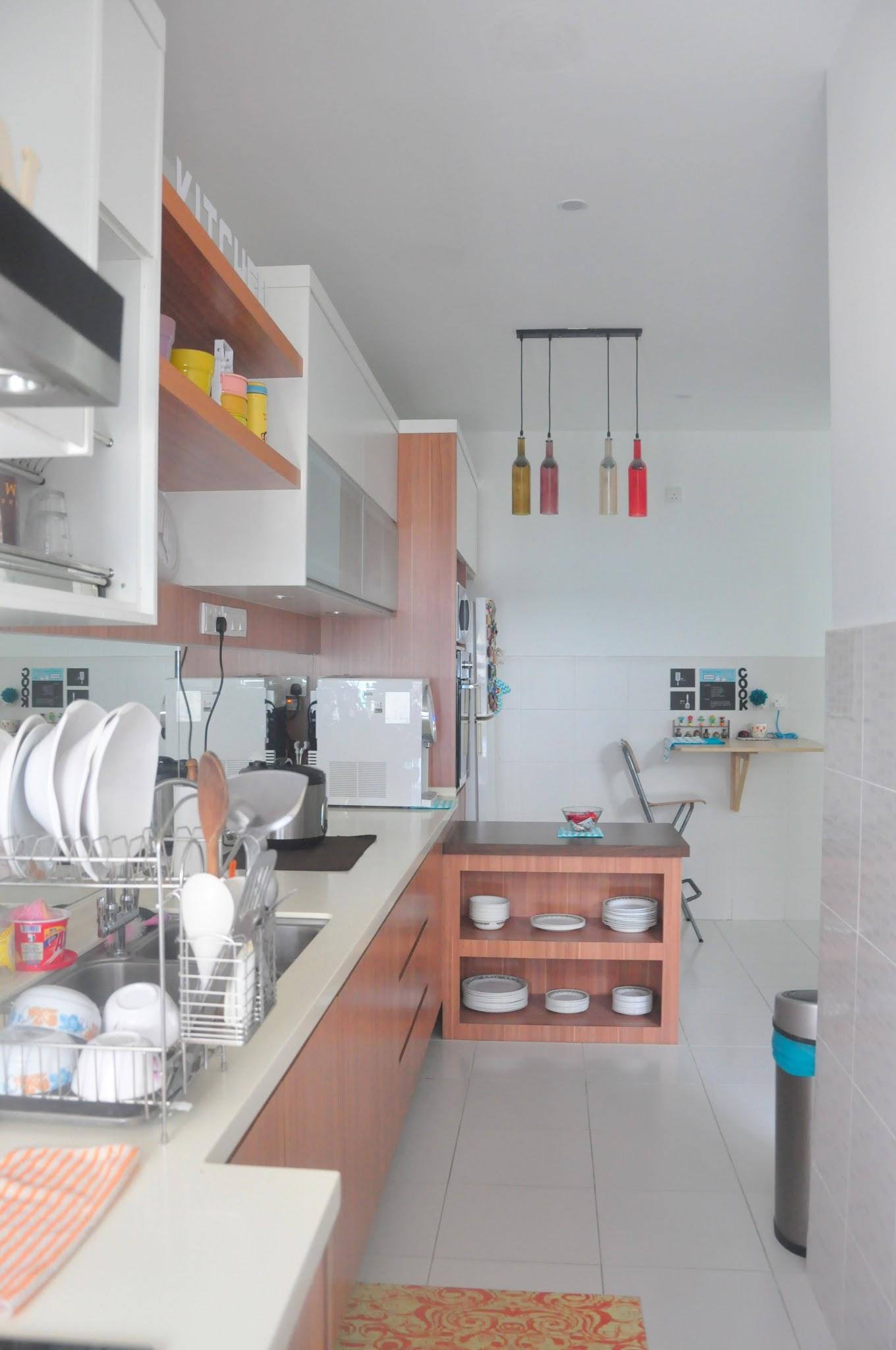 Dapur Dengan Lorong Yang Sempit Tapi Bersyukur Apa Ada Alhamdulillah