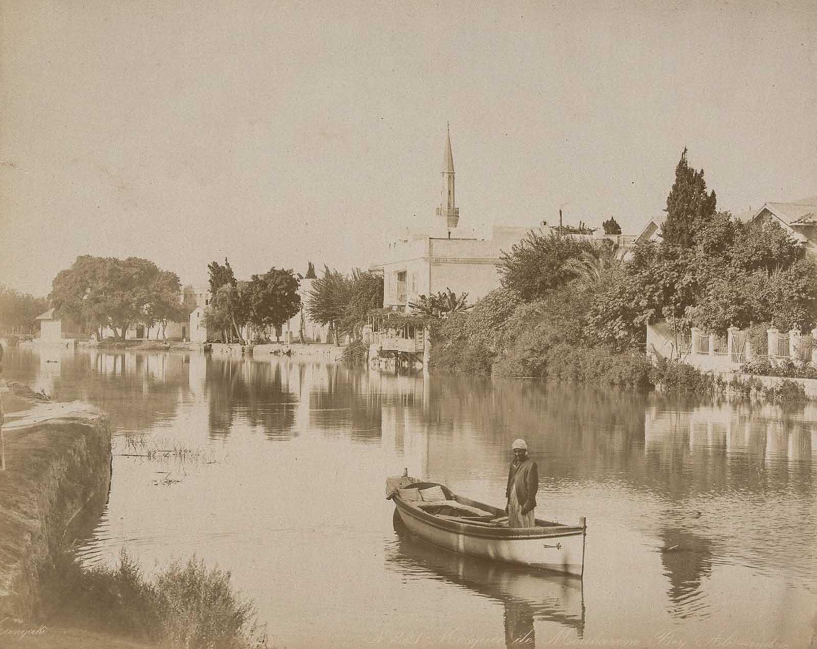 Vista del río, Alejandría.