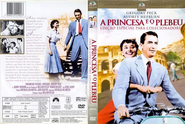 Capa DVD A Princesa e o Plebeu