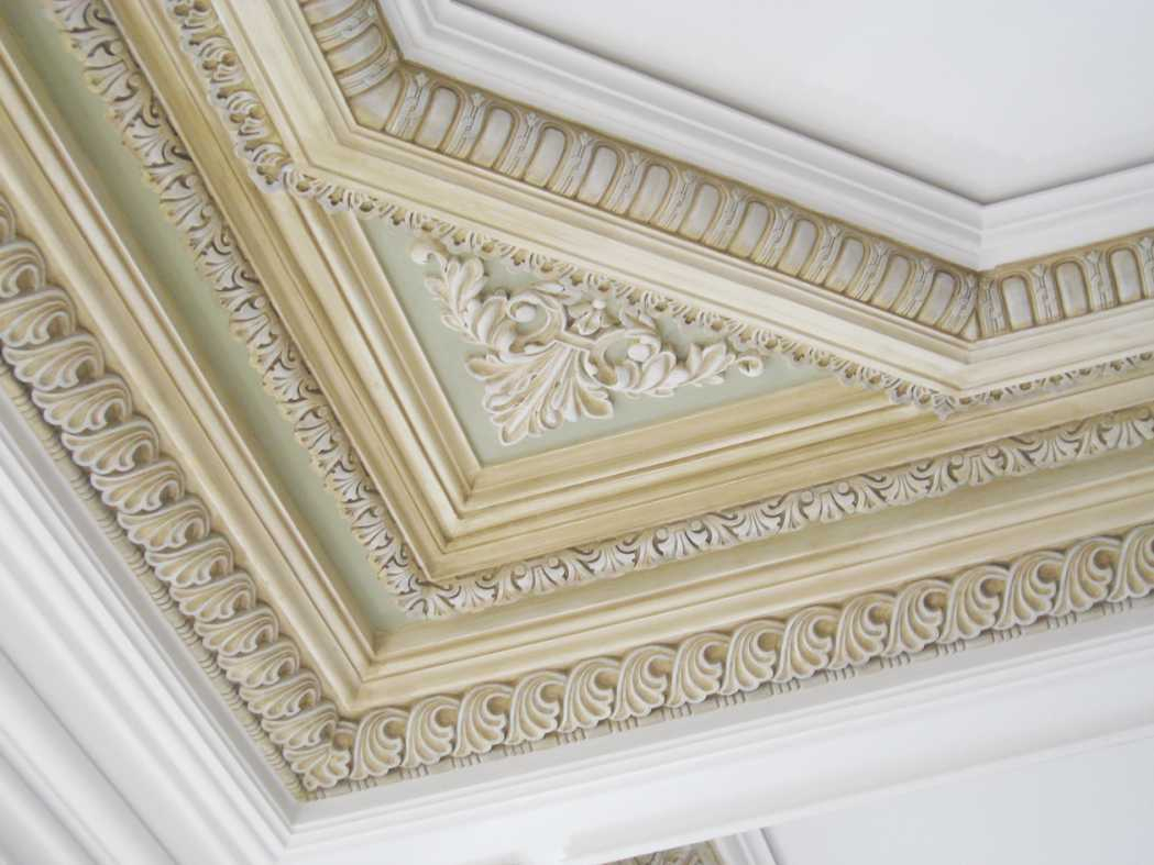 30 Gypsum Ceiling And Wall Corner Crown Molding Ideas ...