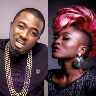 Eva Alodiah and Ice Prince