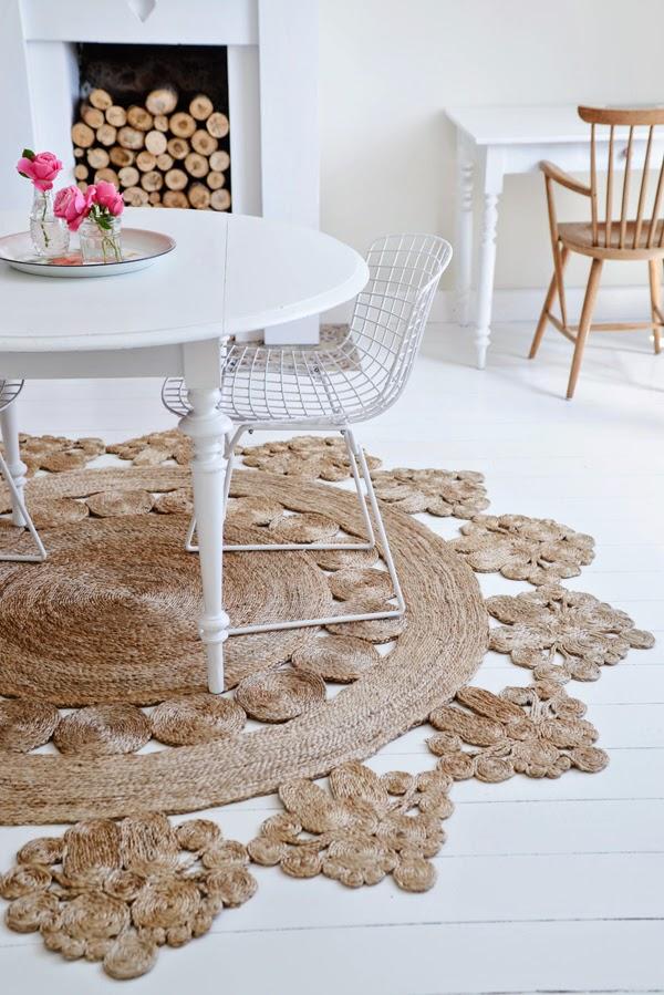 Hogares frescos la alfombra marigold - Alfombras de canamo ...