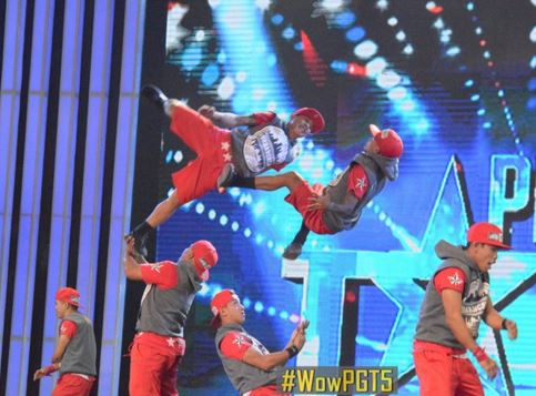 """Hiphop dance group """"Urban Crew"""" rules in PGT auditions"""
