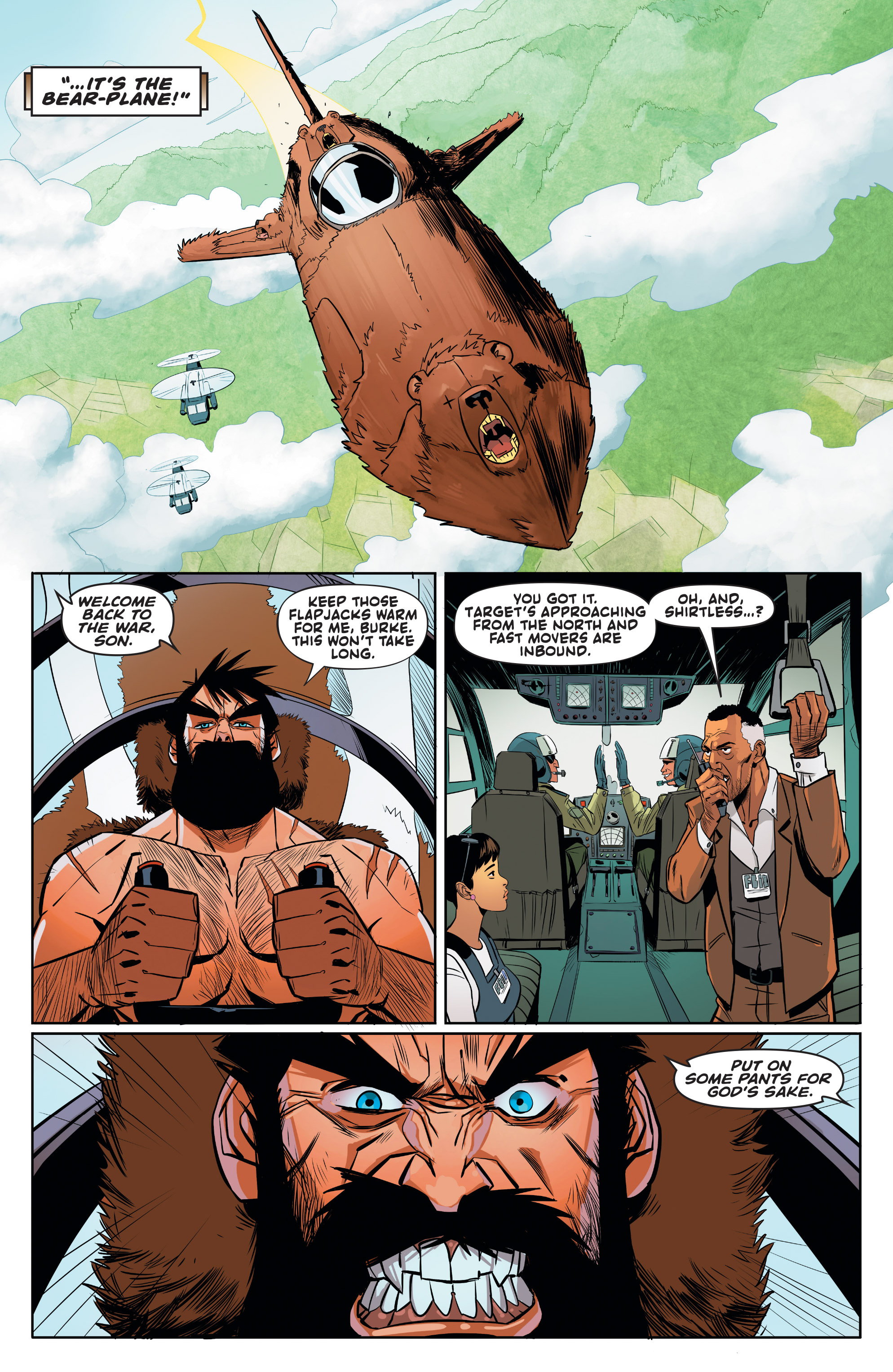 Read online Shirtless Bear-Fighter! comic -  Issue #1 - 24