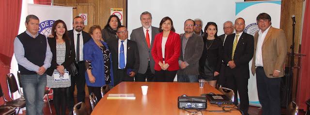 Con jornada reflexiva sobre descentralización Consejo Regional El Loa festejó 60º aniversario del Colegio de Periodistas