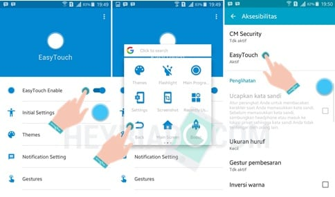 Cara Mengaktifkan Assistive Touch Android
