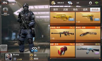 Tai game CF mobile